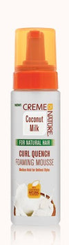 Creme Of Nature Coconut Milk Curl Quench Foaming Mousse - Locobeauty