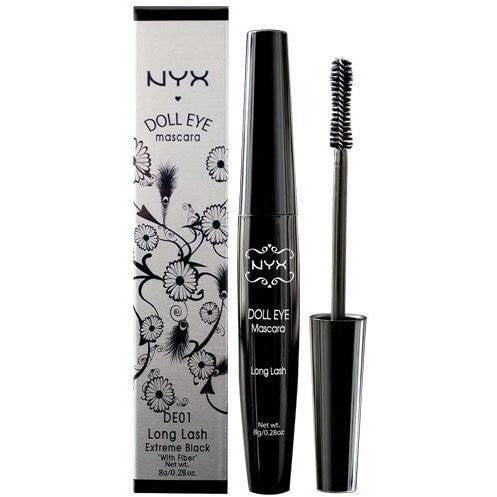 NYX Doll Eye Mascara DE03 Waterproof Extreme Black