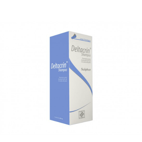 Suiphar Deltacrin Shampoo to Prevent Hair Loss 8.45 oz