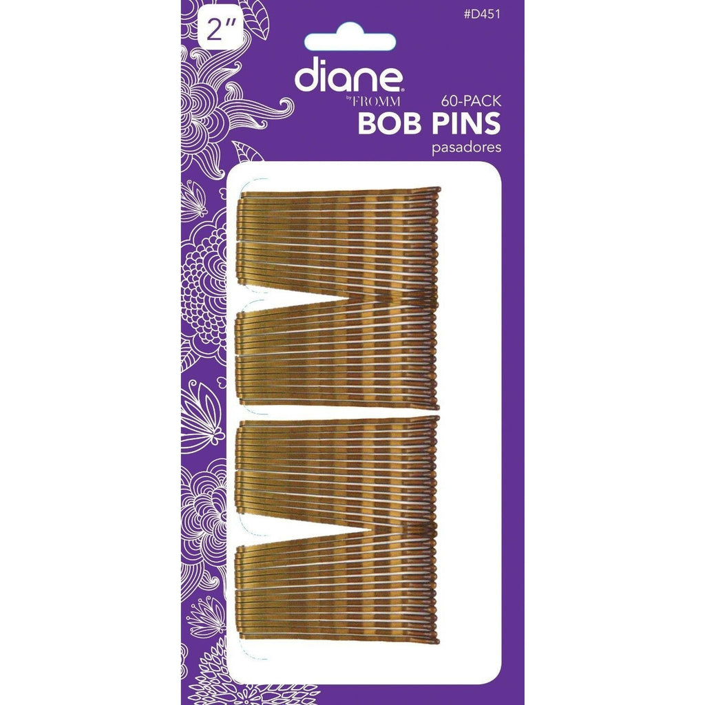 "Diane Bobby Pins D451 2"" Bronze 60-Pack"
