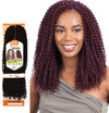 Model Model Glance Crochet Braid Kinky Bohemian Curl 12''
