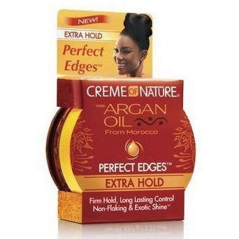 Creme Of Nature With Argan Oil  From Morocco Perfect Edges Extra Hold 2.25 oz