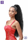 Bobbi Boss Boss Up Wrap Pony Velcro Wrap Natural Jerry Curl - Locobeauty