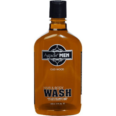 Agadir Men Oud Wood Hair & Body Wash 17 Ounce