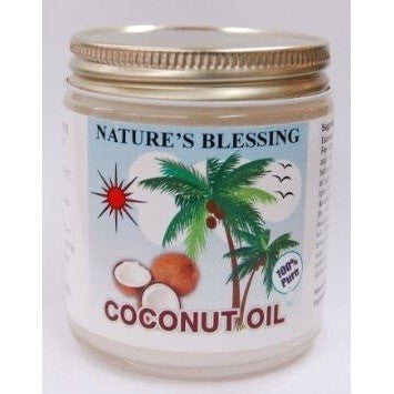 Nature's Blessings 100% Coconut Oil 4 oz