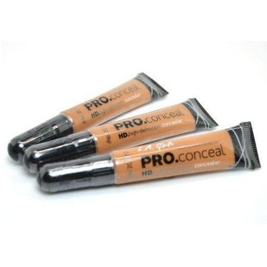 LA Girl Pro Conceal High Definition Concealer Pack of 3 Special