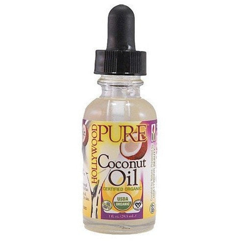 Hollywood Pure Cocout Oil Certified Organic 1 Ounce