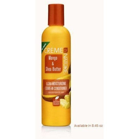 Creme Of Nature Mango & Shea Butter Ultra Moisturizing Leave-In Conditioner 8.45 Ounce