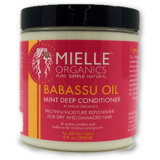 Mielle Organics Babassu Oil Mint Deep Conditioner 8 oz