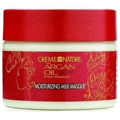 Creme Of Nature Argan Oil Moisturizing Milk Masque 11.5 Ounce