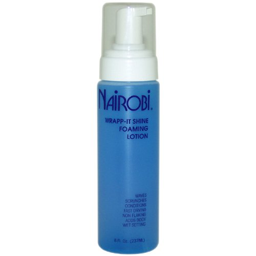 NAIROBI Wrapp-It Shine Foaming Lotion 8 Fl. Oz.