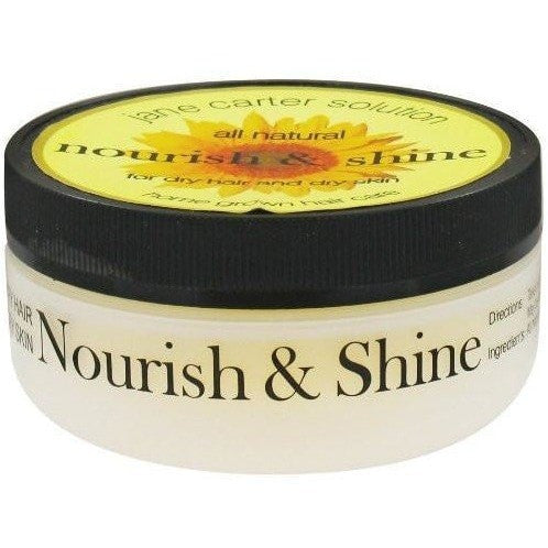 Jane Carter Solution All Natural Nourish and Shine for Dry Hair and Dry Skin 4 Ounce