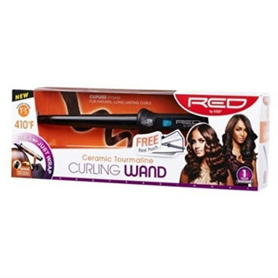 RED by KISS Ceramic Tourmaline Curling Wand - LocoBeauty