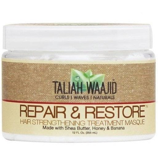 Taliah Waajid Repair & Restore Hair Strengthening Treatment Masque 12 Ounce