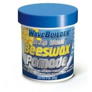 Wave Builder Deep Wave Bees Wax Pomade 3 Ounce