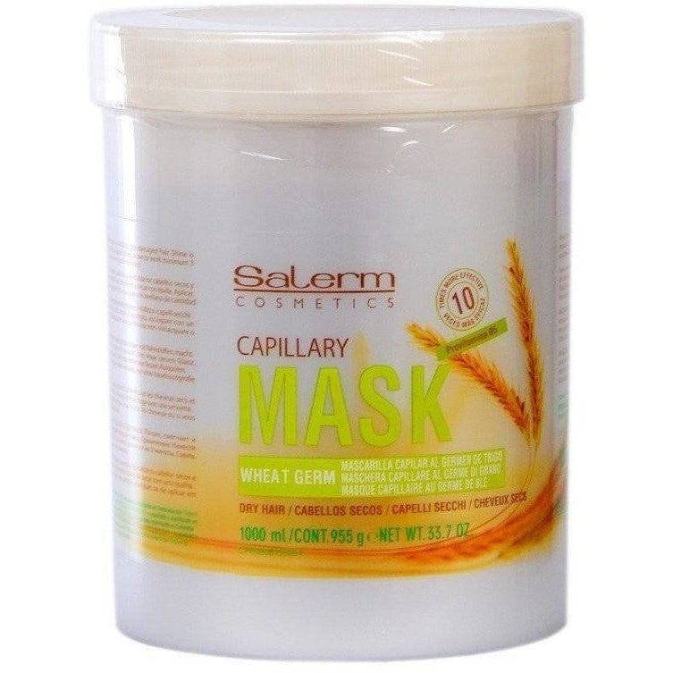 Salerm Wheat Germ Conditioning Treatment (Mascarilla Capilar) 33.7 Ounce
