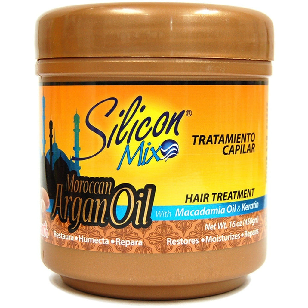 Silicon Mix Moroccan Argan Oil Hair Treatment With Macadamia Oil & Keratin