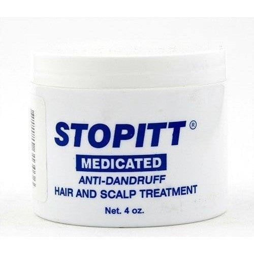 STOPITT Medicated Anti-Dandruff Hair and Scalp Treatment 4 oz