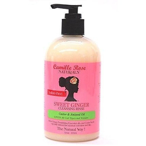 Camille Rose Sweet Ginger Cleansing Rinse 12 Ounce