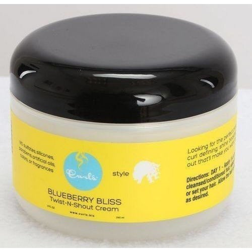 Curls Blueberry Bliss Twist-N-Shout Cream 8 Ounce