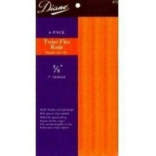 "Diane Twisted-Flex Rods 10"" Long 6-Pack"