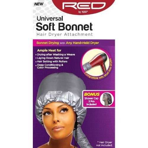 RED by KISS Universal Soft Bonnet Hair Dryer Attachment