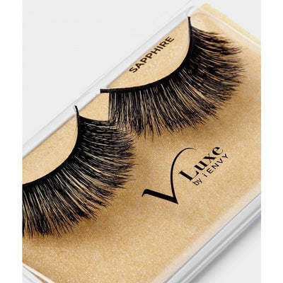 Kiss i.ENVY V Luxe Mink Inspired Lash Sapphire VLEF04 - LocoBeauty