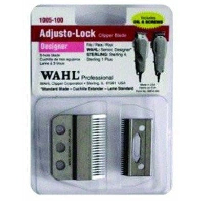 Wahl 3-Hole Designer Adjusto-Lock Clipper Blade 1005-100