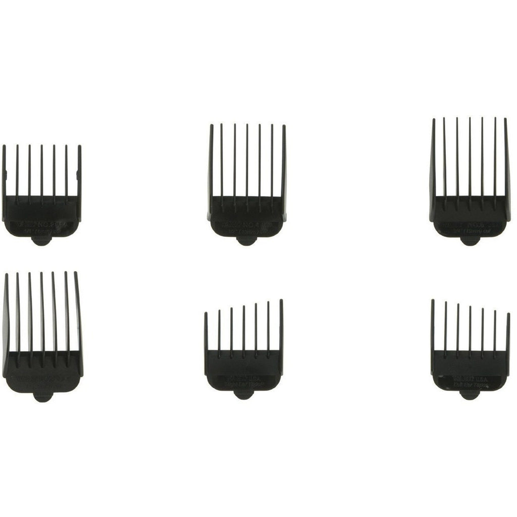 Wahl 3168-500 Replacement Plastic Guide Combs for Standard Clippers, Set of 6