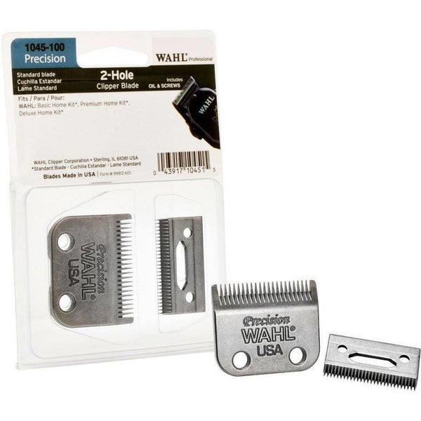 WAHL 2 Hole Precision Clipper Blade Set 1045-100
