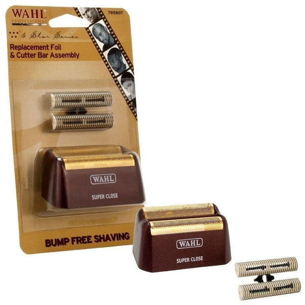 Wahl 5-Star Shaver Replacement Foil & Cutter Bar Assembly 7031-100