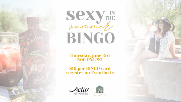 <br>Sexy In the Summer Bingo!