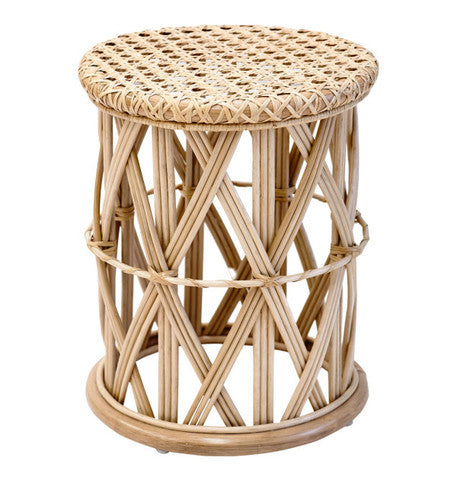 salt living rattan side table