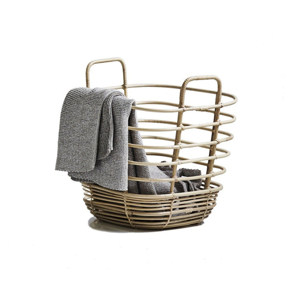 cane-line sweep square rattan basket