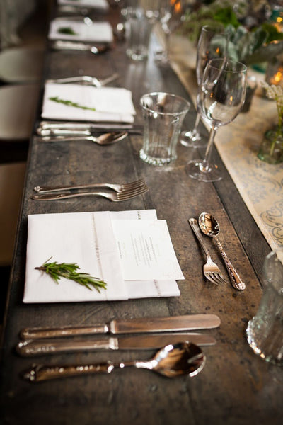 style me pretty place setting