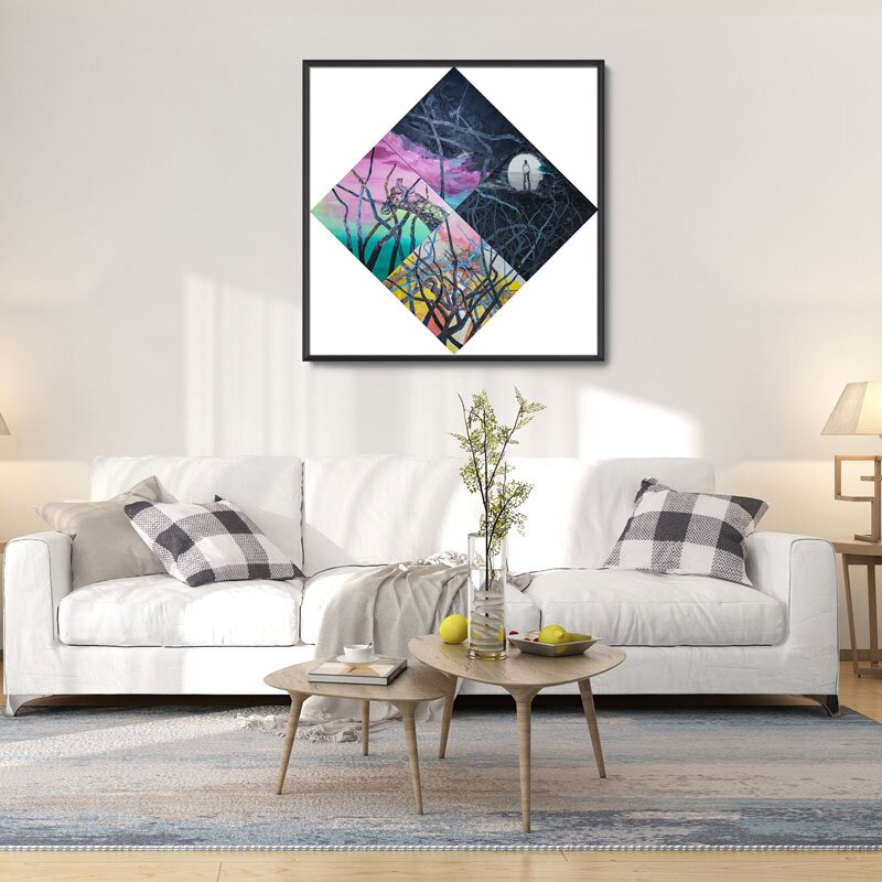 canvas painting size