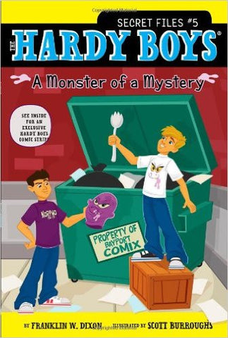 A Monster of a Mystery (Hardy Boys: The Secret Files)