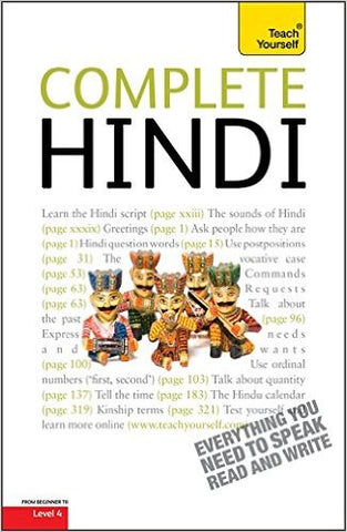 Complete Hindi (Teach Yourself)