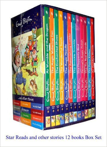 Enid Blytons Box Set/Collection of 12 Story Books - Star Reads and Other Stories