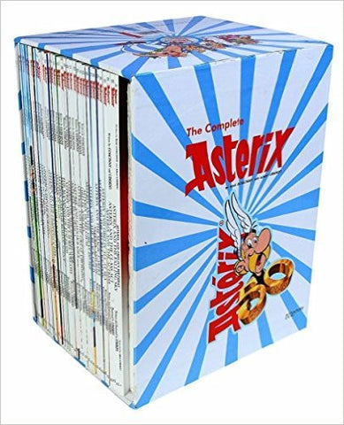 Asterix Comic Books Collection (Graphic Novels) - A Set of 35 Titles