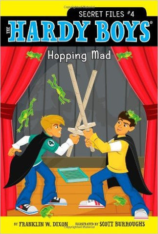 Hopping Mad (Hardy Boys: The Secret Files)
