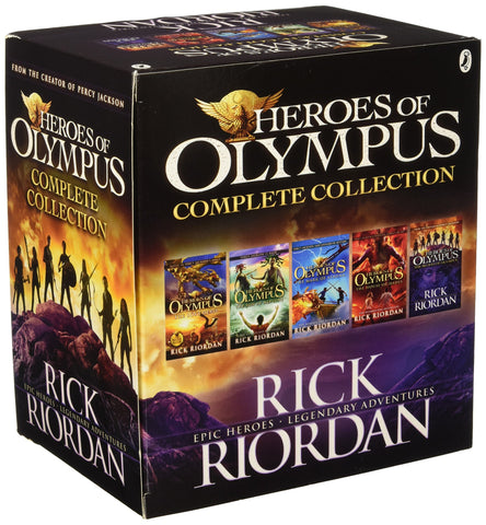 Heroes of Olympus Box Set - 5 Titles