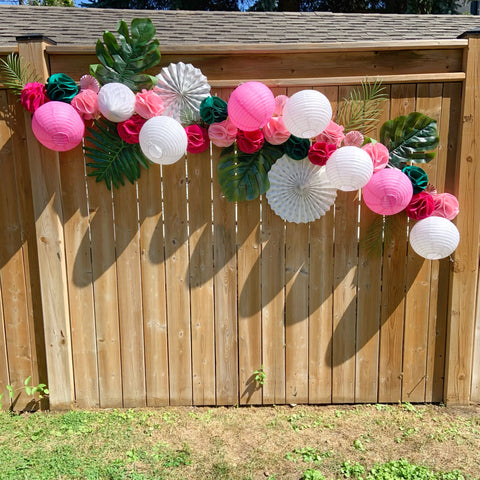 eco-friendly party garland