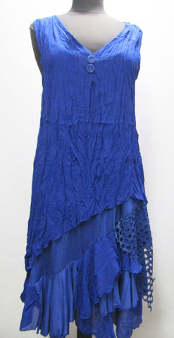 Two-Piece Sleeveless Royal Dress/Tunic