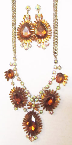 Tantalizing Topaz Necklace Set