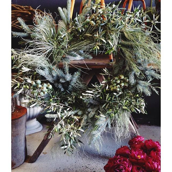 Extra Large Christmas Wreath by Aleksandra
