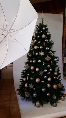 decorated christmas tree hire melbourne delivered
