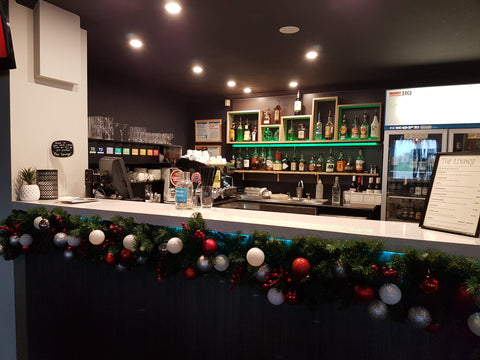 Christmas garland hire - decorated and installed. Melbourne metro and surrounds.