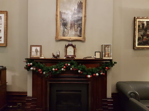 Christmas garland hire - decorated and installed. Delivered to Melbourne metro and surrounds.