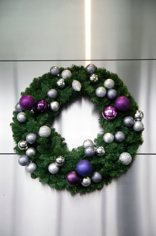 Christmas wreath corporate office